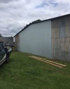 Close Off Bays to Hay Shed | Kingaroy